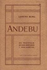 Andebu : en Vestfold-bygds historie i 1600-aarene