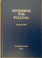 Bygdebok for Folldal