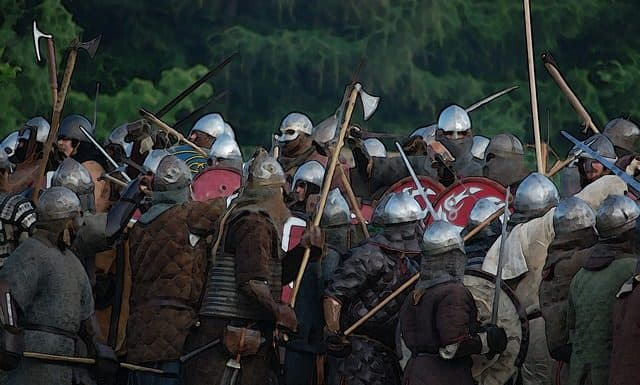Bilde av vikinger