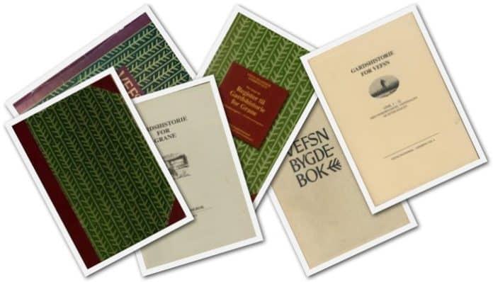 Et utvalg av bygdebøkene for Vefsn, Grane og Hattfjelldal