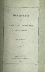 Stamtavle over familien Jarmann