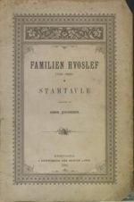 Familien Hvoslef 1702-1890