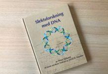 "Omslaget av boka ""Slektsforskning med DNA"""